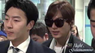 Lee min ho Suzy Airport,Lee min ho Suzy Perfect Couple