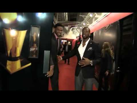 March 22, 2012 - Miami Heat - Udonis Haslem & Dwyane Wade Model Hublot Miami Heat Luxury Watch