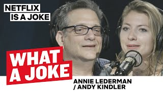 Annie Lederman Talks Periods & Andy Kindler Doesn't Like Bernie | What A Joke | Netflix Is A Joke