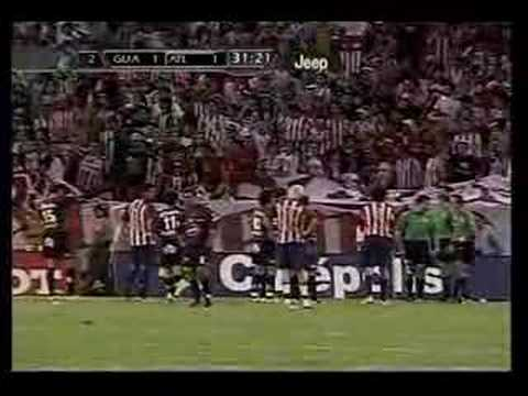 Chivas vs Atlante Bronca