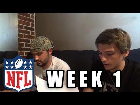 2017 NFL WEEK 1 PREDICTIONS