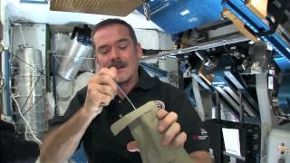 Eating Dessert Aboard the Space Station | CSA Science Full HD Video