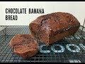 CHOCOLATE BANANA BREAD (VEGAN) - CookingwithKarma