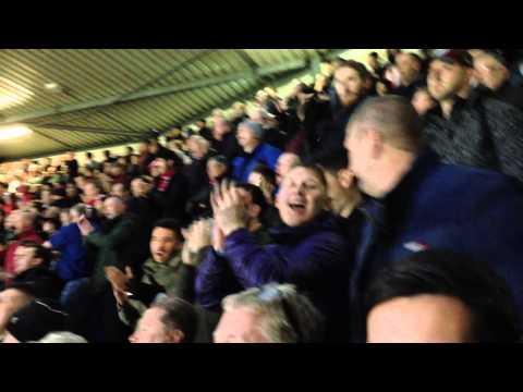 Sunderland fans at Tottenham