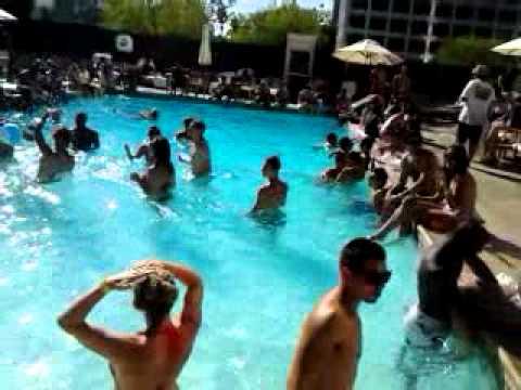 Westin Bonaventure Pool Westin Bonaventure Downtown