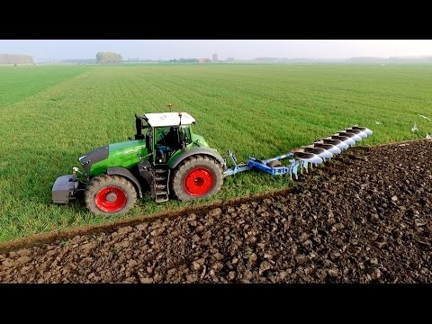Fendt 1050 vario + 8 furrow Lemken Diamant 11 On-Land Plough | KMWP Ploegen / Pflügen