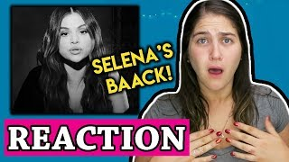 Selena Gomez - Lose You To Love Me | REACTION