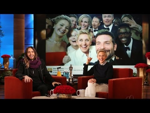 Jared Leto on Pizza and the Oscar Selfie