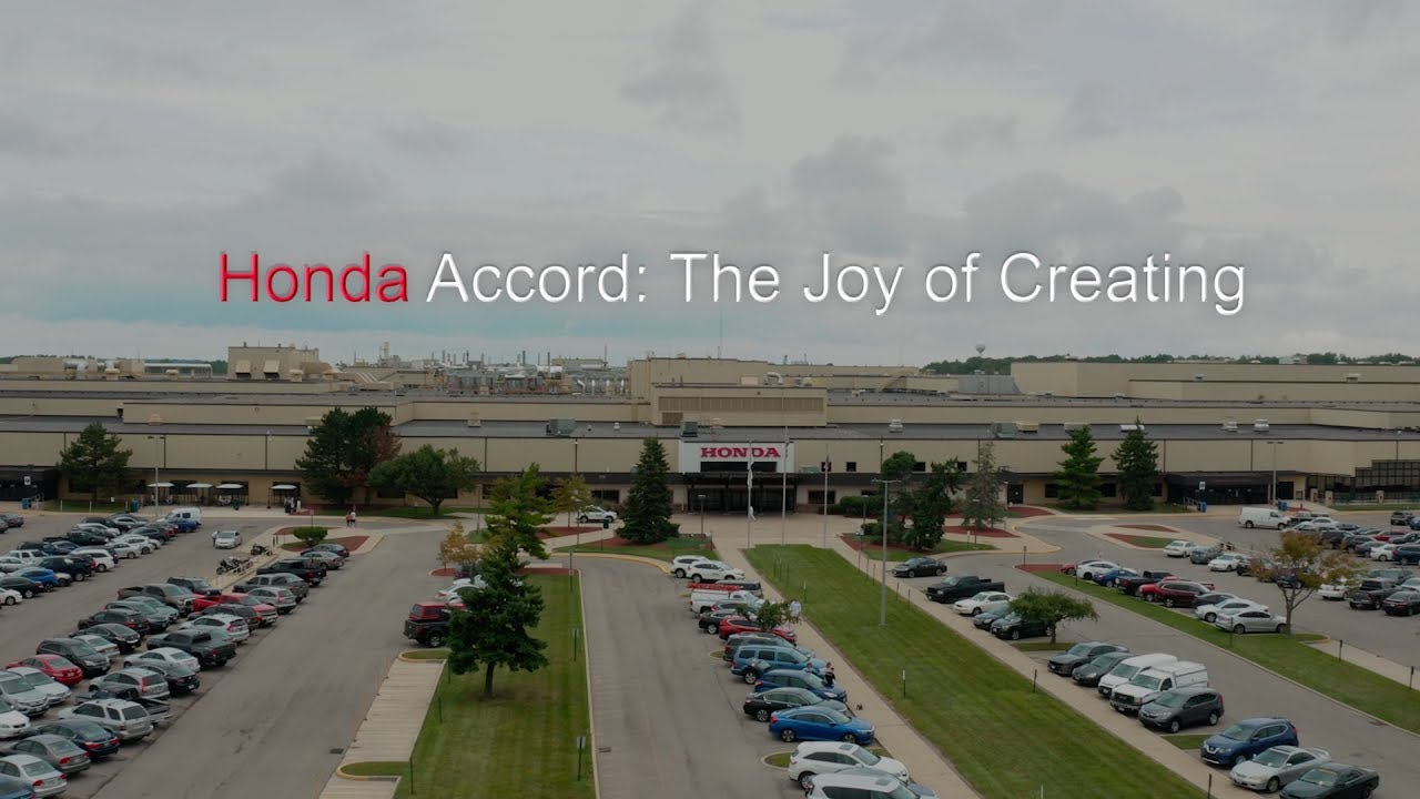 "Honda Accord: ""The Joy of Creating"""
