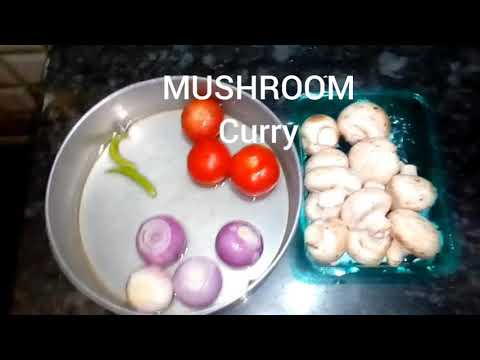 MUSHROOMS curry /  in simple & easy way