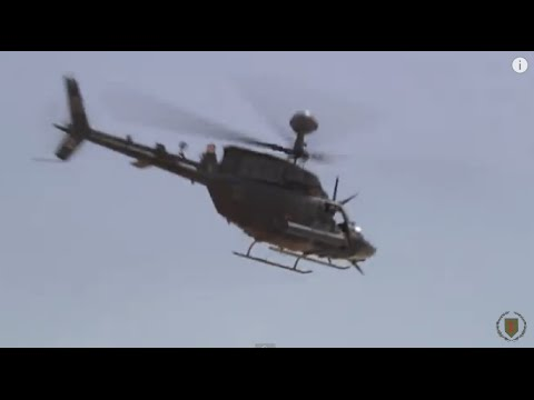 Helicopter Footage - Kiowa Pilots Fly the Skies over Afghanistan
