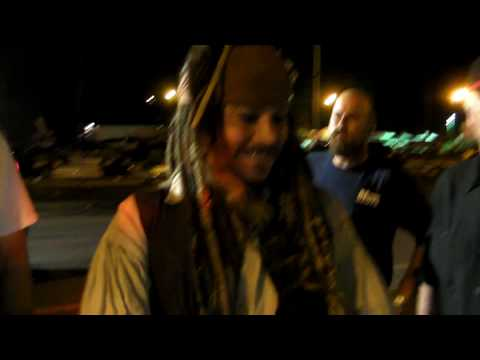 Thumb Captain Jack Sparrow in Hawaii