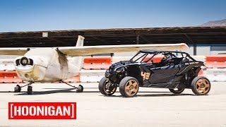 [HOONIGAN] Field Trip 008: Ken Block Gymkhana Testing CanAM X3 with Jason Ellis