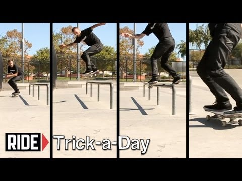 How-To Skateboarding: Backside Lipslide with Clint Walker