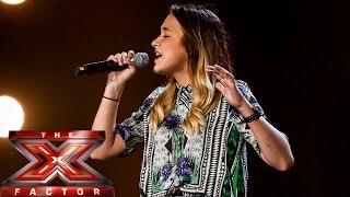 Lauren Platt sings Michael Jackson's Man In The Mirror | Boot Camp | The X Factor UK 2014