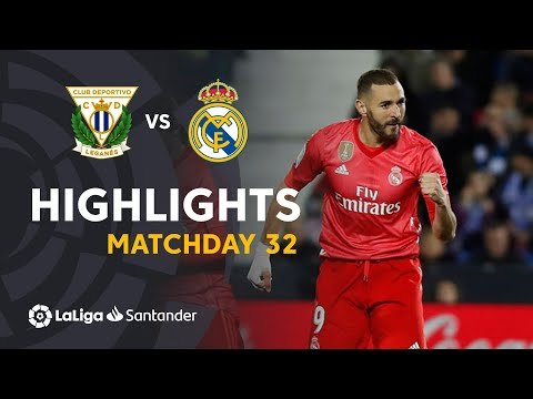 Highlights CD Leganes vs Real Madrid (1-1)