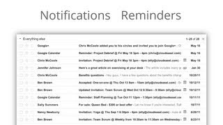 Google Calendar Notifications and Reminders
