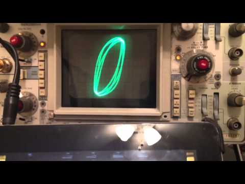 United Retrotronics Oscilloscope Clock, Part 1