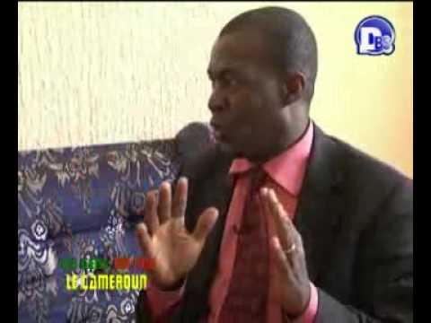 CHARLES SYLVESTRE ATEBA EYENE INVITE DE L'EMISSION '' LES GENS QUI FONT LE CAMEROUN'' SUR DBS TV