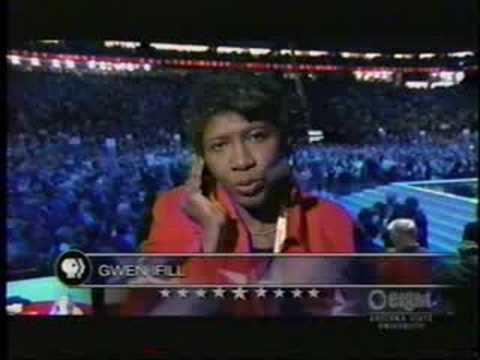 Gwen Ifill on Sarah Palin speech