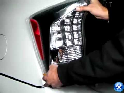 toyota prius rear tail light installation youtube