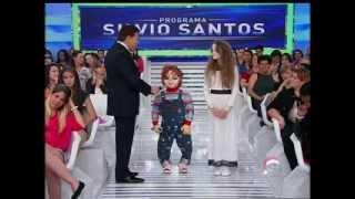 Silvio Santos conversa com