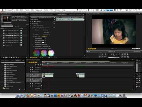 Color Correction Premiere Pro Tutorial