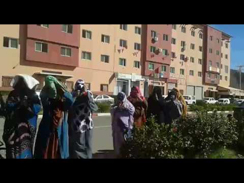 احتجاجات أمام ولاية جهة كلميم وادنون للمطالبة بالعيش الكريم
