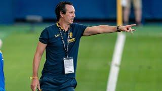Unai Emery analiza el duelo ante el Huesca