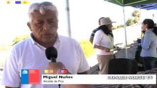 Nota: Entrega de un Tractor y Sistema de riego fotovoltaico en la localidad de Quisma - Pica