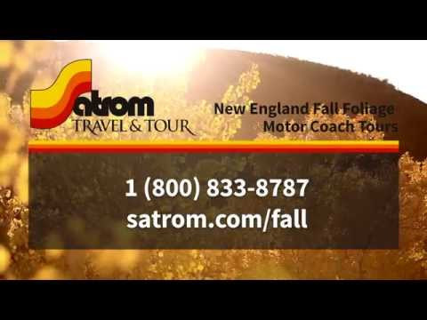 Satrom Travel: New England Fall Foliage Tour 2014