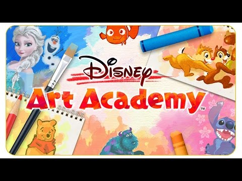 Kummer erwacht zum Leben! #03 Disney Art Academy - Let's Test 3/3