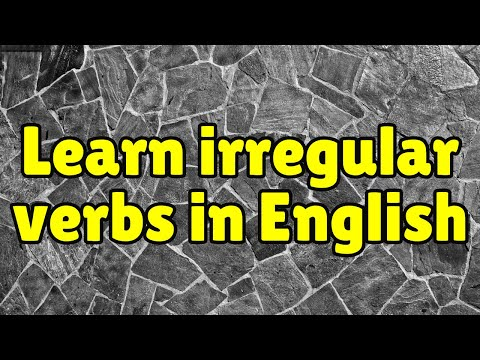 for using irregular verbs understand the How to form the present perfect simple with irregular verbs:  and then put the  past participle, the word from column 3 of the irregular verb list (became, eaten).