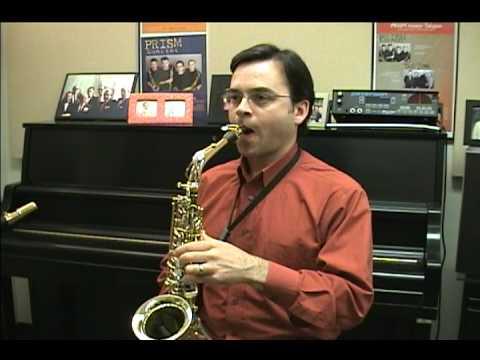 Saxophone: Creating an Embouchure
