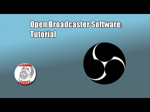 Como configurar o Open Broadcaster Software