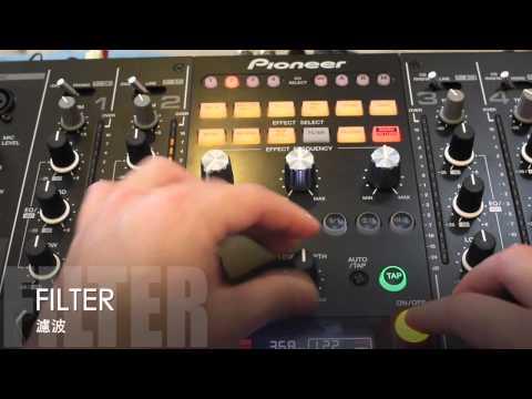 PIONEER DJM-2000 Nexus Effect Display