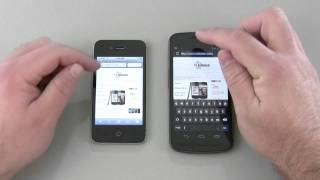 Galaxy Nexus vs iPhone 4S - Browser Speed Comparison
