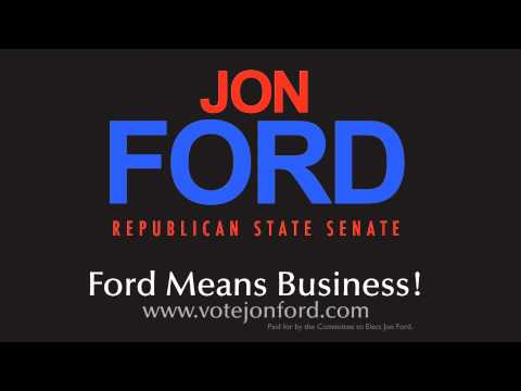 Campaign radio spot for Jon Ford a republican candidate for Indiana State Senate district 38. For more information: www.votejonford.com www.facebook.com/vote...