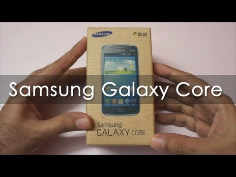 Samsung Galaxy Core Unboxing & Hands