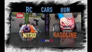 RC Gasoline (Fuel), FG Monster 5ive, Buggy Nitro Novarossi, + RC Cars Electric, RC Run