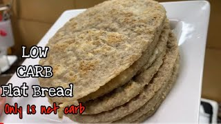 NO BAKED KETO - LOW CARB FLAT BREAD ONLY 1.8 net carb using coconut flour | KETO DIET PHILIPPINES