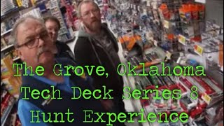 The Grove, Oklahoma Tech Deck Series 8 Hunt Walmart Experience