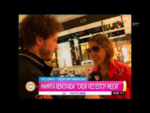 """Pampita sobre los rumores de reconciliación con Nacho: """"Mi felicidad hoy pasa por otro lado"""""""