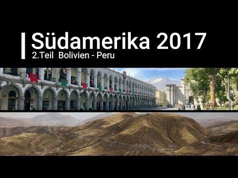 Südamerika 2017 2.Teil  Bolivien - Peru