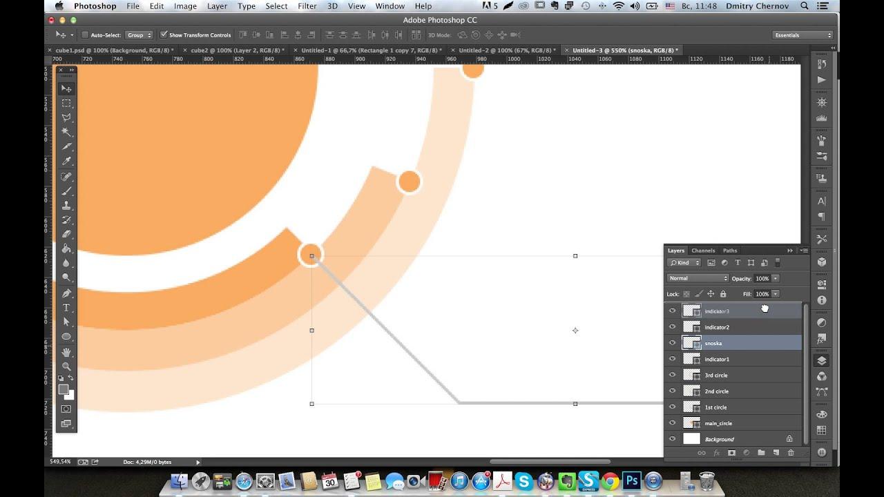 Adobe illustrator как сделать круг