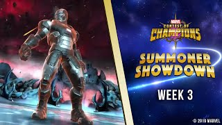 Marvel Contest of Champions: Summoner Showdown | Week 3