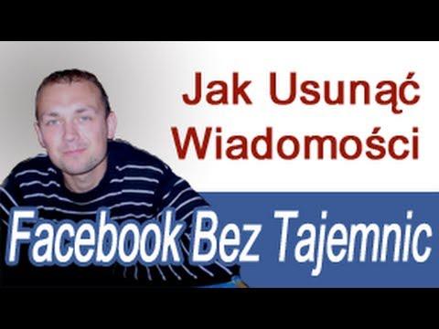Jak Usunąć Wiadomości Na Facebooku, Konwersacje, Facebook Bez Tajemnic, Korzystanie Z Facebooka