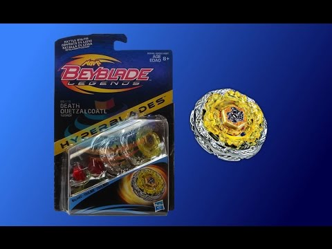 Beyblade Legends Hyperblades BB-119 Death Quetzalcoatl Review Unboxing Giveaway Exp Oct 26th 2014