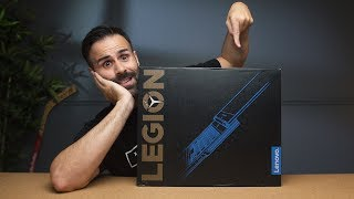 Lenovo Legion Y730 Unboxing & First Impressions! 😍
