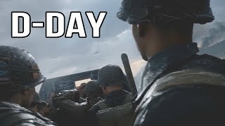 Evolution of D-Day Missions in Call of Duty